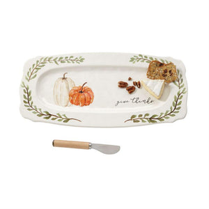 Pumpkin Hostess Platter