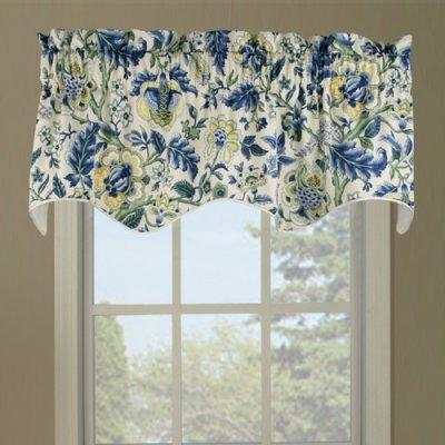 Regency Filler Valance Blue