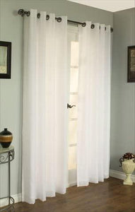 "Rhapsody Lined Grommet Panel 84"" in Ivory"