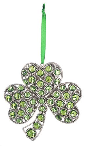 Shamrock Gem Ornament