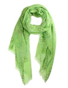 Shamrock Scarf Light Green