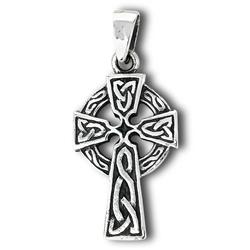 Sterling Silver Celtic Cross Necklace