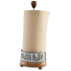 Wash and Dry Paper Towel Holder