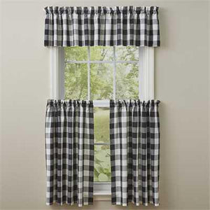 Wicklow Valance Black