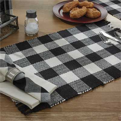 Wicklow Black Placemat