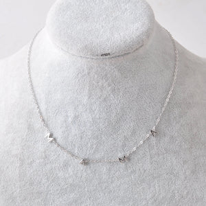 "Sterling Silver ""MAMA"" letter necklace"