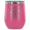 Wine Tumbler - MVP Blocker - Roller Derby themed apparel by RollerDerby.Love