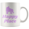 Mug - Happy Place - Roller Derby themed apparel by RollerDerby.Love
