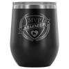 Wine Tumbler - MVP Jammer - Roller Derby themed apparel by RollerDerby.Love