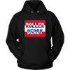 Unisex Hoodie - Roller Derby Block - UK Derby themed apparel - Roller Derby Love