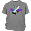 Youth Shirt - Skate With Wings