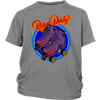 Youth Shirt - Flaming Skates - Roller Derby themed apparel by RollerDerby.Love