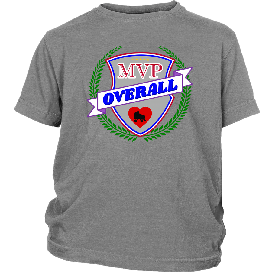 Youth Shirt - MVP Overall - Roller Derby themed apparel by RollerDerby.Love