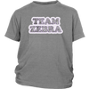 Youth Shirt - Team Zebra - Roller Derby themed apparel by RollerDerby.Love