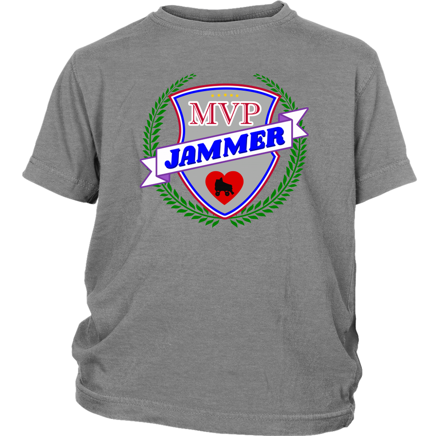 Youth Shirt - MVP Jammer - Roller Derby themed apparel by RollerDerby.Love