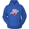 Unisex Hoodie - MVP After-Party Derby themed apparel - Roller Derby Love
