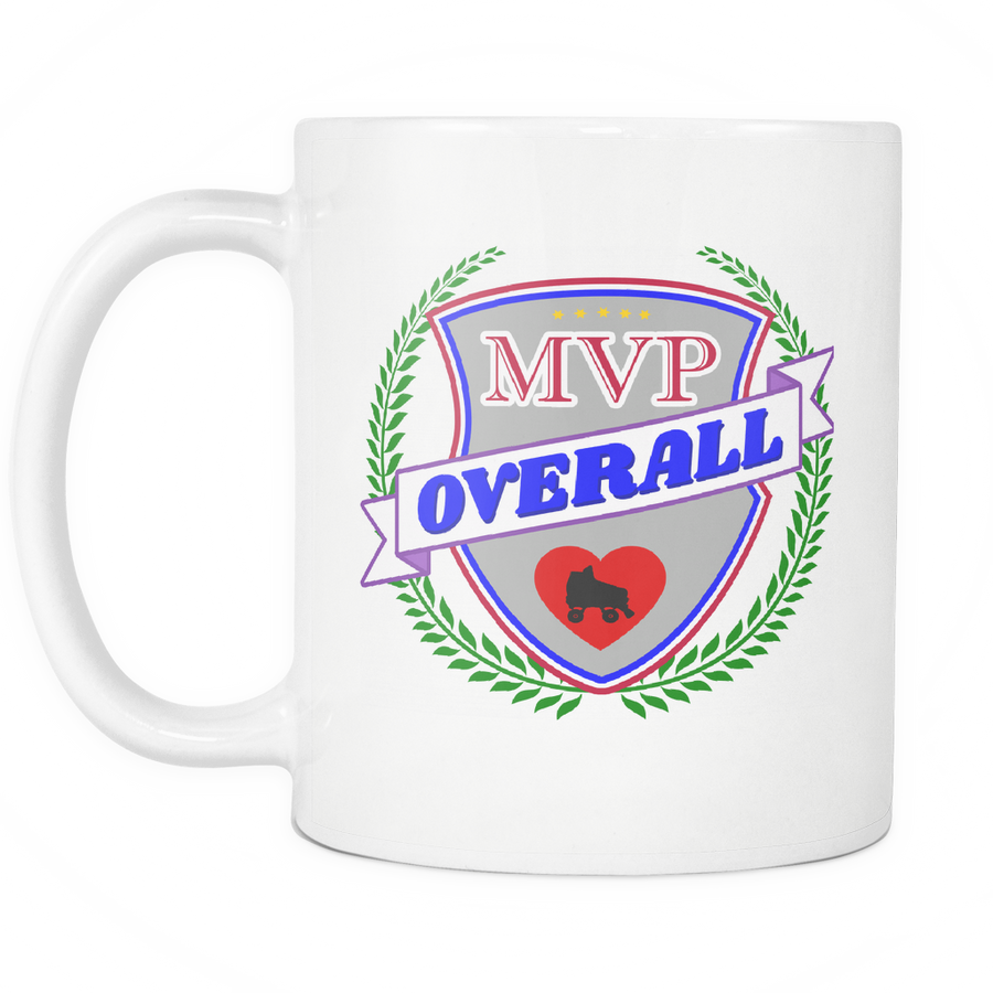 Mug - MVP Overall Derby themed apparel - Roller Derby Love