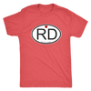 Mens Triblend - RD Derby themed apparel - Roller Derby Love