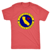Mens Triblend - California Seal of Roller Derby - Roller Derby themed apparel by RollerDerby.Love