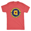 Mens Triblend - Arizona Seal of Roller Derby Derby themed apparel - Roller Derby Love