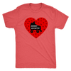 Mens Triblend - Derby Accepts Derby themed apparel - Roller Derby Love