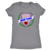 Womens Triblend - MVP Ref/NSO Derby themed apparel - Roller Derby Love