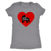 Womens Triblend - Derby Accepts Derby themed apparel - Roller Derby Love