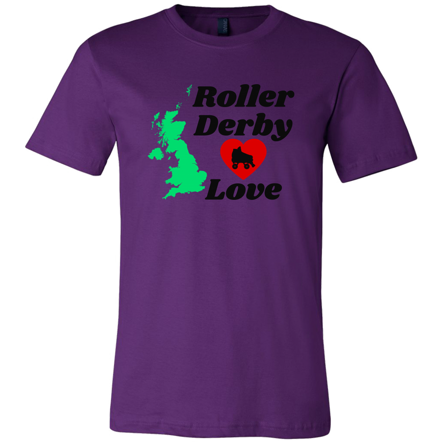Canvas Shirt - Roller Derby Love - UK Derby themed apparel - Roller Derby Love