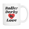 Mug - Roller Derby Love Derby themed apparel - Roller Derby Love
