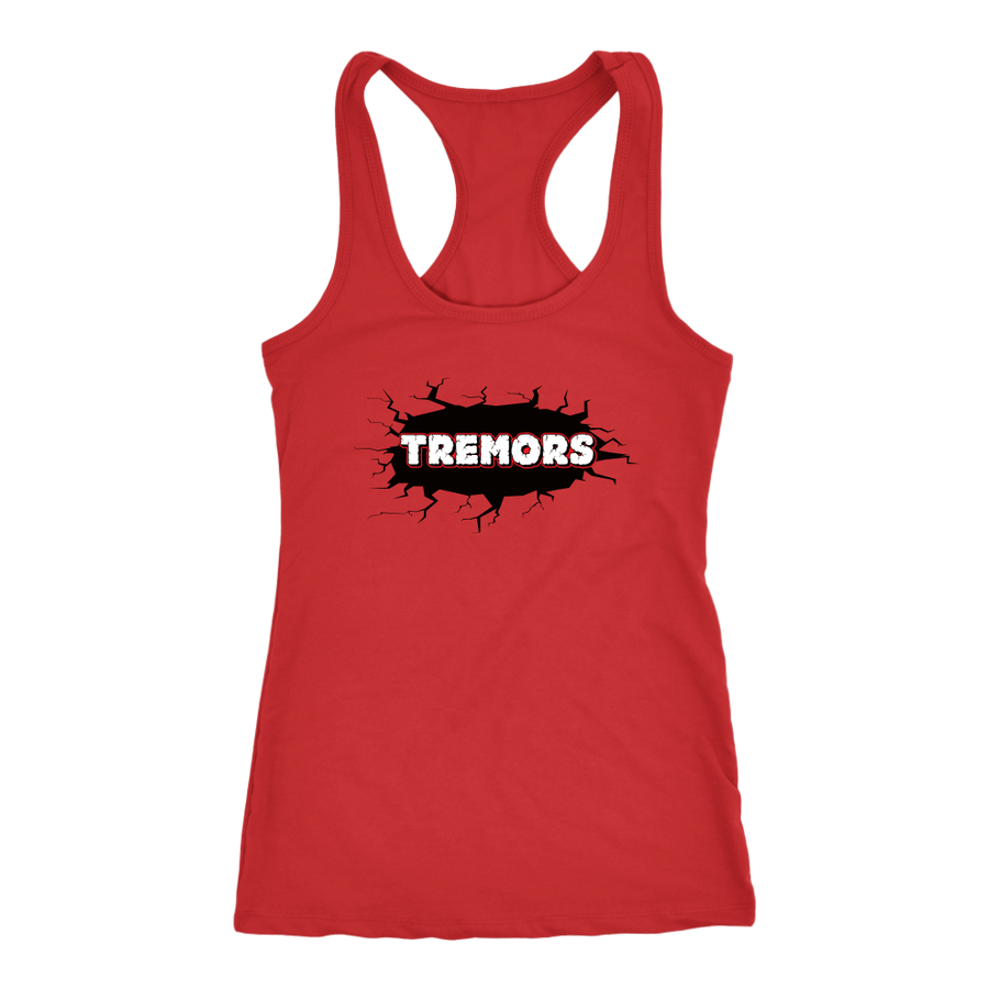 Racerback Tank - San Diego Tremors Derby themed apparel - Roller Derby Love
