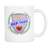 Mug - MVP Ref/NSO - Roller Derby themed apparel by RollerDerby.Love