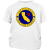 Youth Shirt - California Seal of Roller Derby