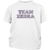 Youth Shirt - Team Zebra