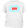 Youth Shirt - 27 in 5 - Roller Derby themed apparel by RollerDerby.Love