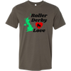 Canvas Shirt - Roller Derby Love - UK
