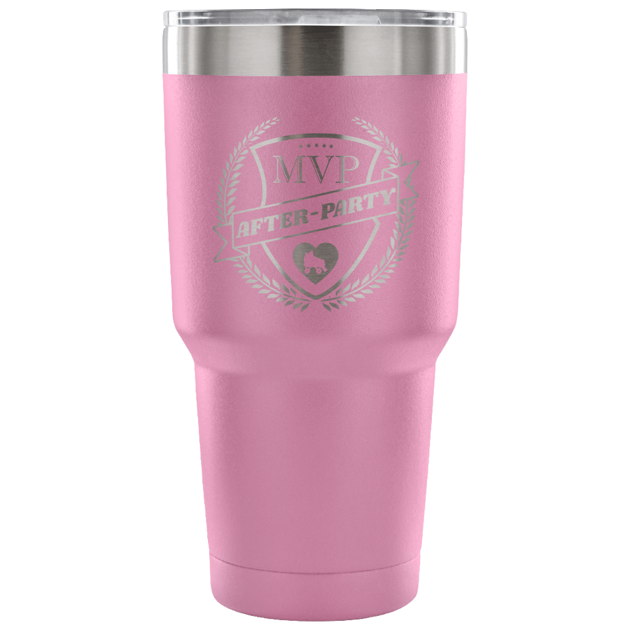 Tumbler - MVP After-Party Derby themed apparel - Roller Derby Love