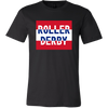 Canvas Shirt - Roller Derby Block - UK Derby themed apparel - Roller Derby Love