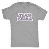 Mens Triblend - Team Zebra - Roller Derby themed apparel by RollerDerby.Love