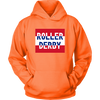 Unisex Hoodie - Roller Derby Block - UK - Roller Derby themed apparel by RollerDerby.Love
