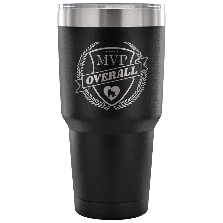 Tumbler - MVP Overall Derby themed apparel - Roller Derby Love