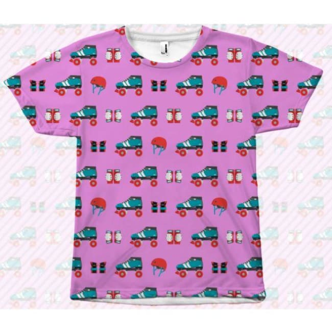 All Over Print Tee - Derby Gear - All Over Print
