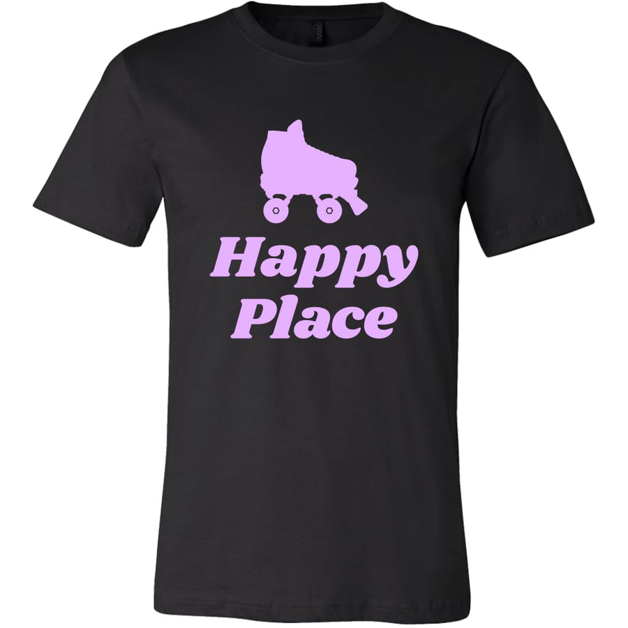 Canvas - Happy Place - Canvas Mens Shirt / Silver / S - T-shirt