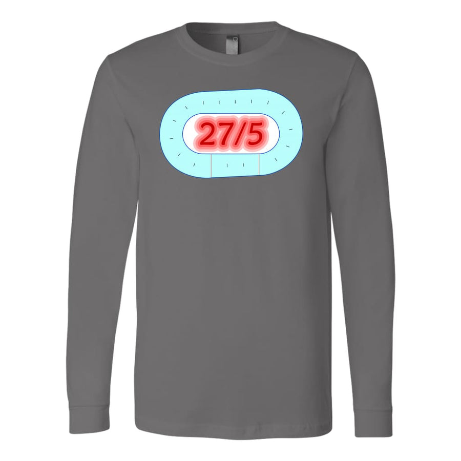 Canvas Long Sleeve - 27 in 5 - Canvas Long Sleeve Shirt / Black / S - T-shirt