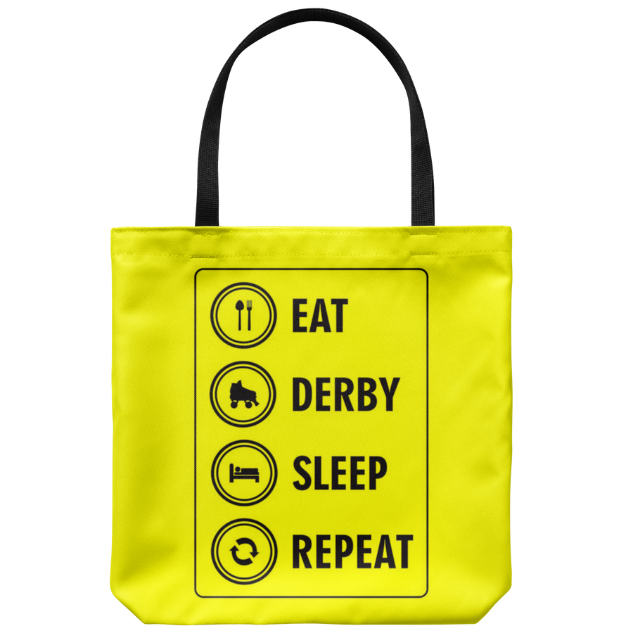 Tote Bag - Eat Derby Sleep