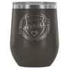Wine Tumbler - MVP Overall - Roller Derby themed apparel by RollerDerby.Love