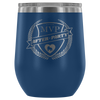 Wine Tumbler - MVP After-Party Derby themed apparel - Roller Derby Love