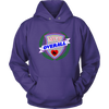 Unisex Hoodie - MVP Overall - Roller Derby themed apparel by RollerDerby.Love