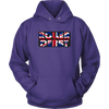 Unisex Hoodie - Roller Derby UK Derby themed apparel - Roller Derby Love