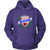 Unisex Hoodie - MVP Blocker - Roller Derby themed apparel by RollerDerby.Love