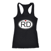 Racerback Tank - RD Derby themed apparel - Roller Derby Love